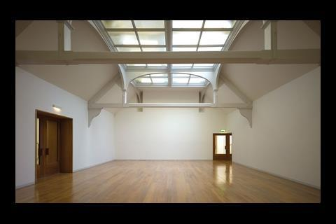Whitechapel gallery in east Londonx, designed by Dutch architect Robbrecht en Daem in collaboration with UK architect Witherford Watson Mann